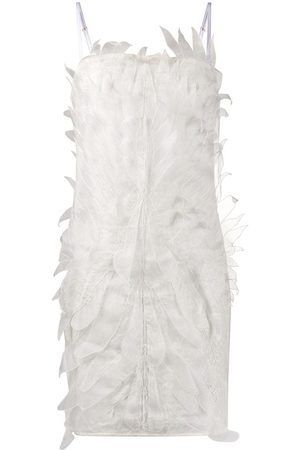 Dolci Follie Textured pin tuck dress