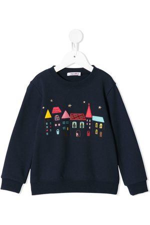 Familiar Meisjes Sweaters - House embroidery sweatshirt
