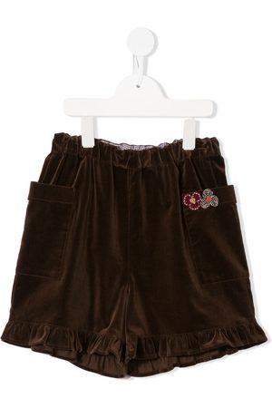 Familiar Patch pocket shorts