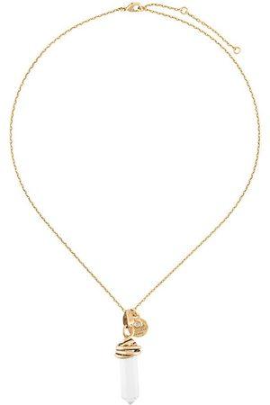 Goossens Talisman crystal necklace