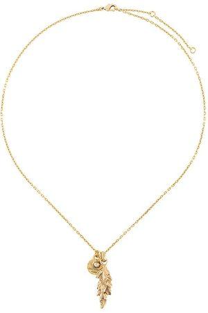 Goossens Talisman wheat pendant necklace
