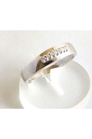 Christian Ring met diamanten 0.07 ct.