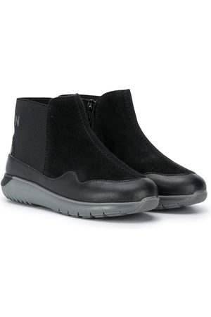 Hogan Chunky sole ankle boots