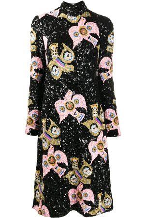 La DoubleJ Gala open-back sequin dress