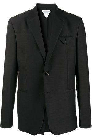 Bottega Veneta Pocket-fold single-breasted blazer