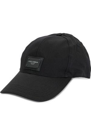 Dolce & Gabbana Logo patch cotton cap