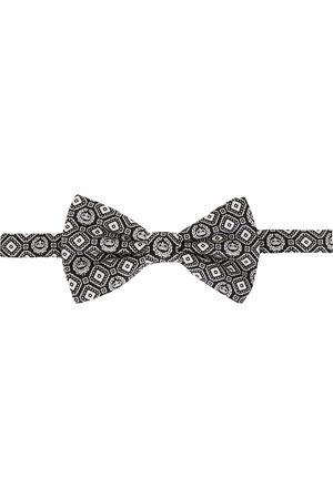 Dolce & Gabbana Geometric print silk bow tie
