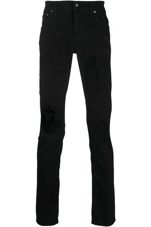 Dolce & Gabbana Logo patch pocket jeans