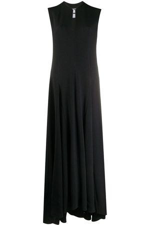 Jil Sander Flared sleeveless dress