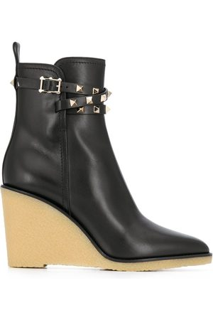 VALENTINO GARAVANI Rockstud wedge boots