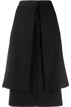 LEMAIRE Layered straight skirt