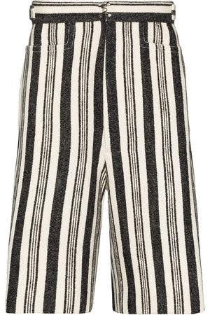Pronounce Stripe leisure bermuda shorts