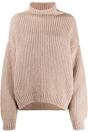 ANINE BING Oversized mock-neck jumper