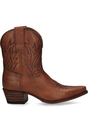 Sendra Dames Cowboy Boots - 16954 Bruin