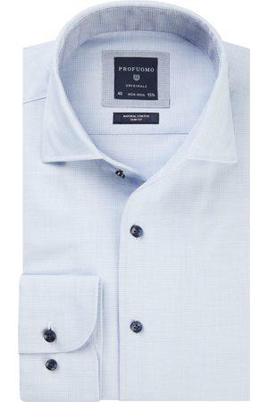 Profuomo Heren Overhemden - Heren dobby overhemd Originale