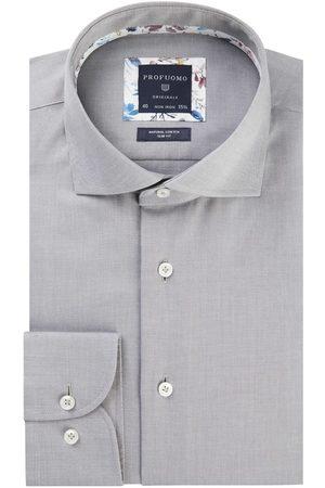 Profuomo Heren Overhemden - Heren overhemd cutaway sc sf grey Originale