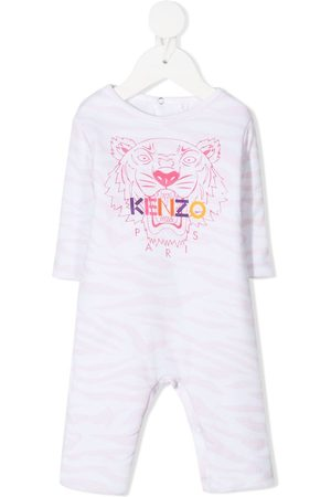 Kenzo Tiger-print babygrow
