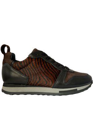Aqa Sneakers velvet black long beach