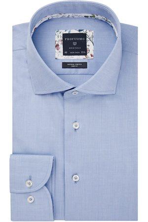 Profuomo Heren Overhemden - Heren twill overhemd Originale