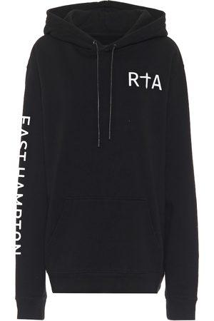 RTA Markus logo cotton hoodie