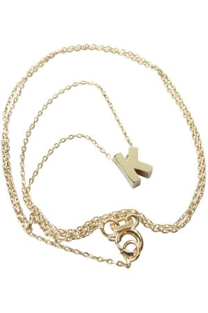 Christian Gouden ketting met k hanger