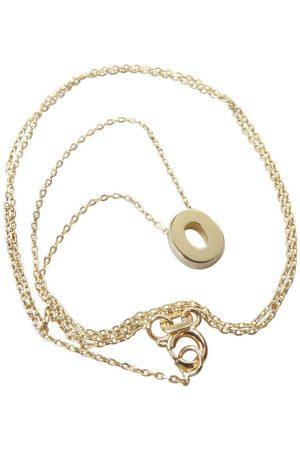 Christian Gouden ketting met o hanger