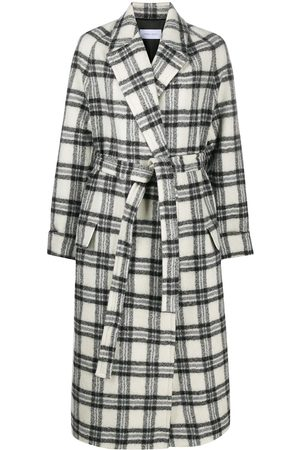 CHRISTIAN WIJNANTS Wrap coat with belted waist
