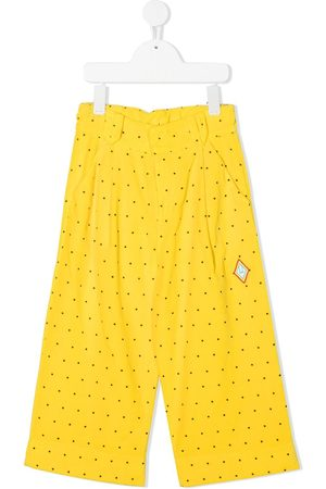 The Animals Observatory Polka dot wide-leg trousers