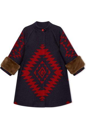 Gucci Geometric bee coat