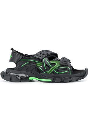 Balenciaga Chunky two-tone sandals
