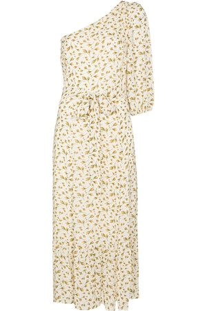 Reformation Freeport floral one shoulder midi dress