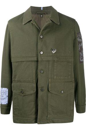 McQ Swallow Button-up shirt jacket