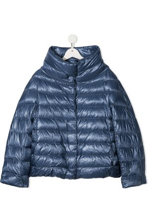 HERNO TEEN funnel-neck padded jacket