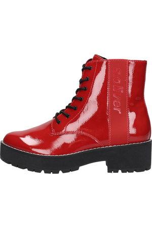 s.Oliver Dames Hoge laarzen - Chunky Boots