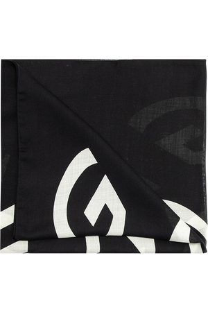 Givenchy Logo-embroidered scarf