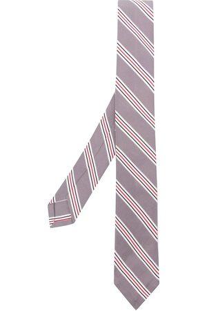 Thom Browne Heren Vlinderdassen - Jacquard hairline stripe tie