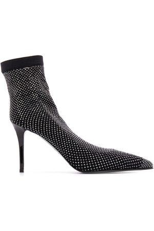 LE SILLA Embellished sock pumps