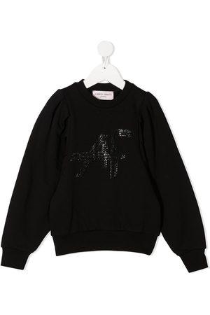 Alberta Ferretti Studded logo sweatshirt