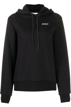 Kirin Logo drawstring hoodie