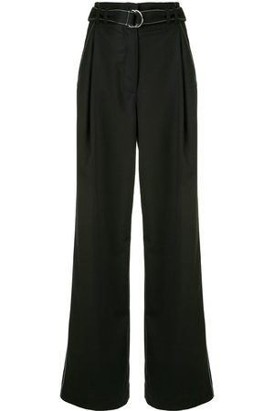 PROENZA SCHOULER WHITE LABEL Tie-waist flared trousers