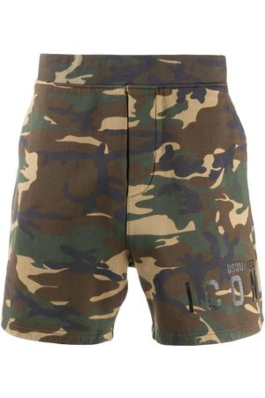 Dsquared2 Camouflage-print Icon shorts