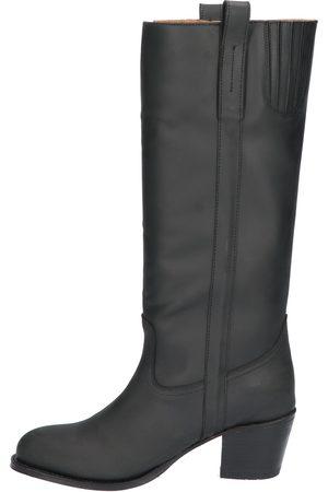 Sendra 14821 Flota Negro Lavado Boots lange-laarzen
