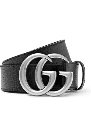 Gucci Heren Riemen - 4cm Full-Grain Leather Belt