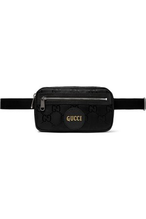 Gucci Off the Grid Leather-Trimmed Monogrammed ECONYL Canvas Belt Bag