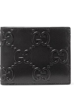 Gucci GG Tennis Monogrammed-Leather Billfold Wallet
