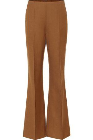 Joseph Talou stretch-wool flared pants