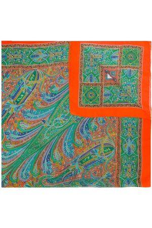 Yves Saint Laurent Paisley print scarf