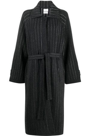 Barrie Balmacaan cashmere cardi-coat