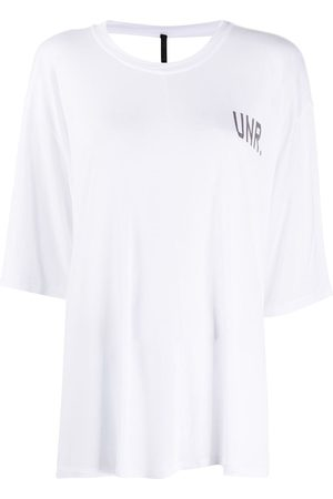 Unravel Project LAX open-back T-shirt
