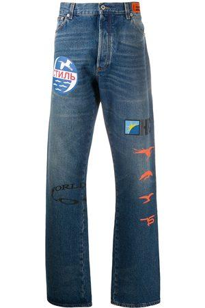 Heron Preston Graphic print bootcut jeans